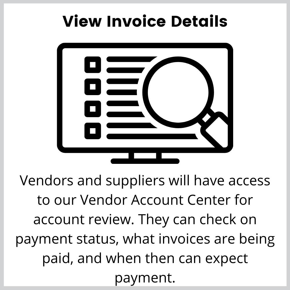 invoice visibility