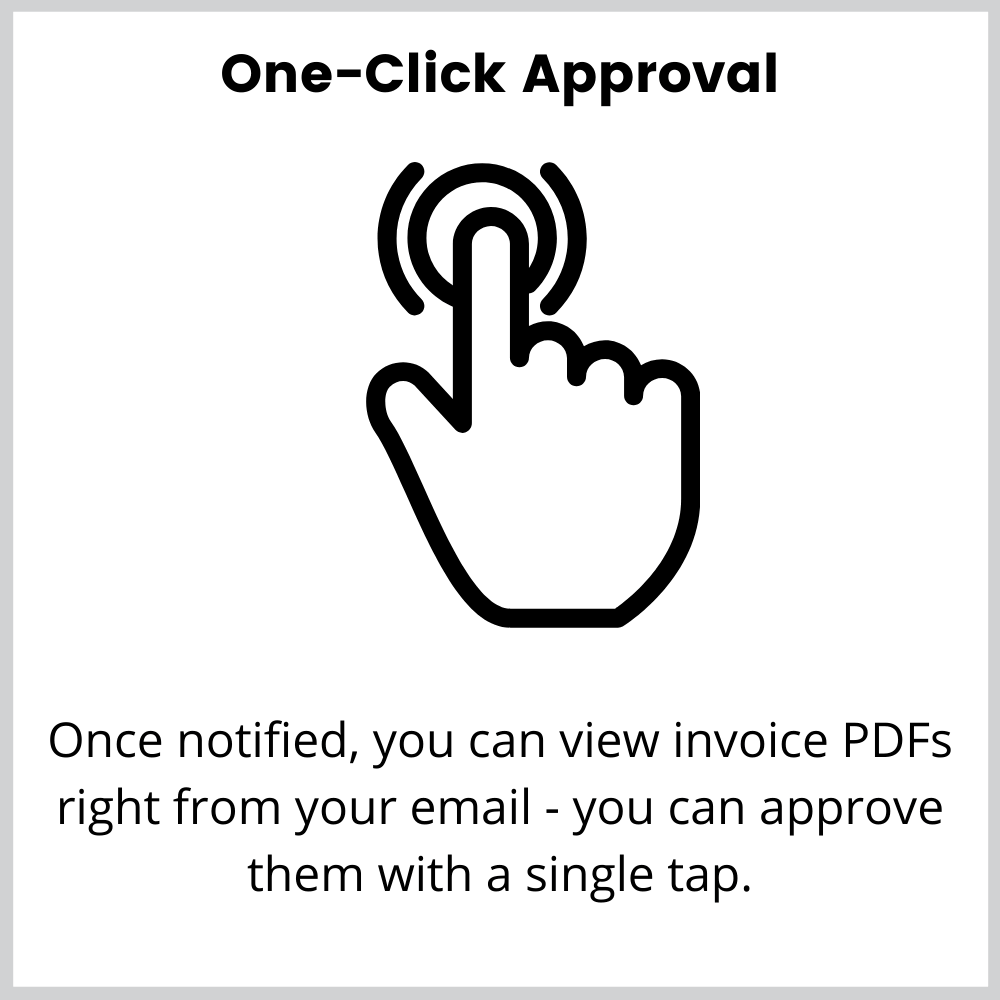 automatic invoice approval