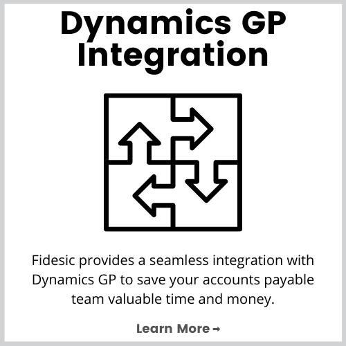 dynamics gp accounts payable automation