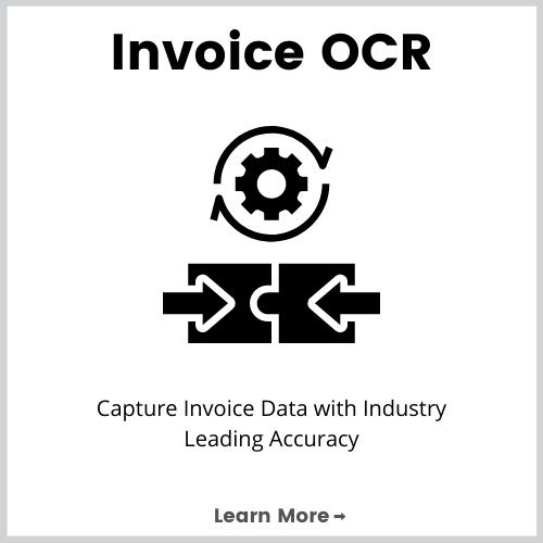 invoice ocr data capture