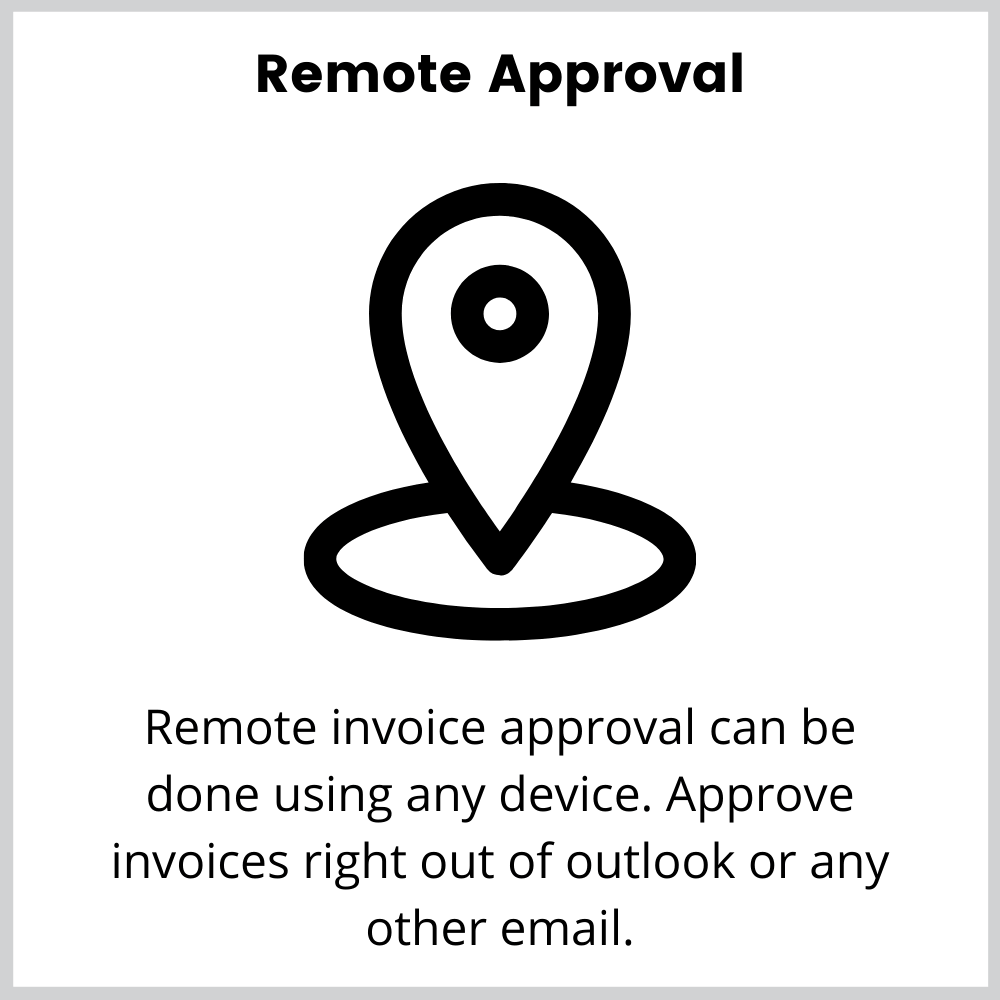Mobile invoice approval
